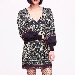 Free People Music and Lyrics Mini Sweater Dress